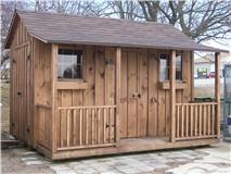 10x12 w.porch walnut