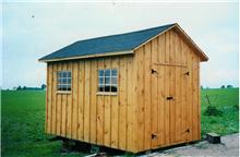 8x10 pine shed