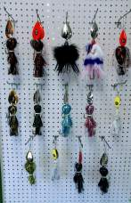 view of Musky Spinners